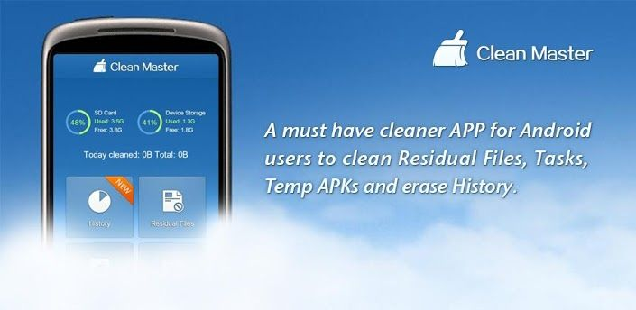 Clean Master (Cleaner)   alien's & android's technologies
