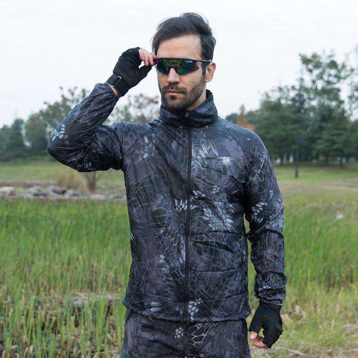 2017 Men Summer Jacket Military Tactical Skin Windbreaker Camouflage Autumn Waterproof Breathable Male Brand Clothing Plus Size