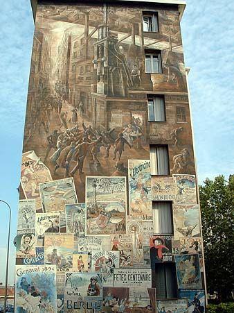 Canuts et affiches Lyonnaises - Lyon
