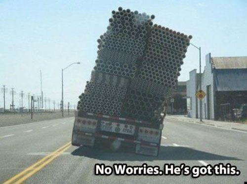 funny truck fail