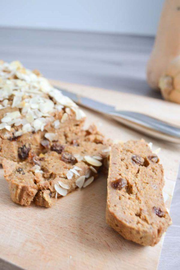 Suikervrij Pompoenbrood met Speculaaskruiden