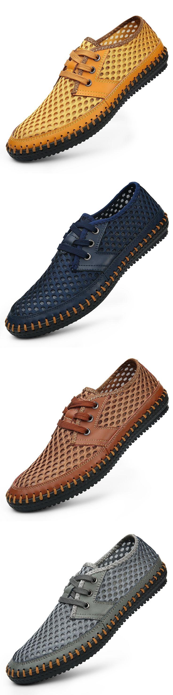Men Sandals 2016 New Arrive Men'S Casual Sandals Super Breathable Skynet Lightweight Summer Shoes Breathable Mesh Men'S Sandals