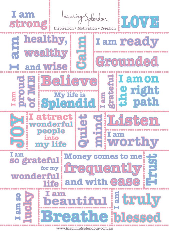 Vision Boards And Affirmations   Vision Board Affirmations