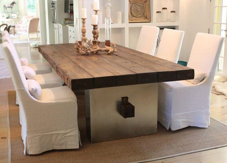 Эксклюзивный стол из цельного массива, дерево, дерево в интерьере, массив, изделия из дерева, изделия из массива, Бигвуд