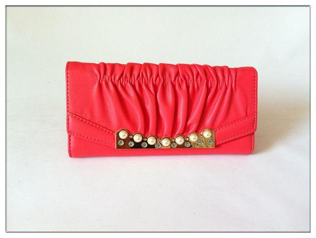 vrouwen handtas schoudertas eenvoudige wilde vrouwen portefeuilles& lederen portemonnee gratis verzending $25.00 (free shipping)