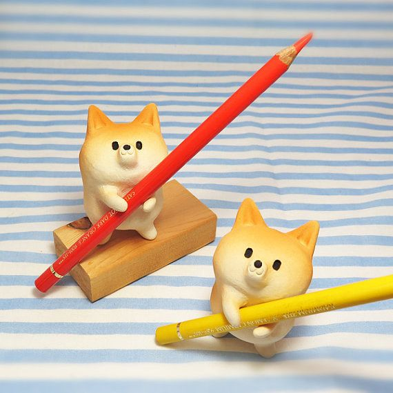 Allow these noble Shiba Inu's to hold your stationery. | 22 Products Every Dog Lover Needs In Their Lives