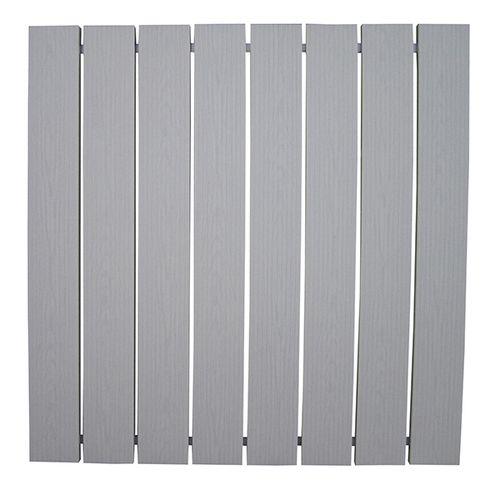 Patriot Docks Gray Aluminum 4 X 4 Section Aluminum Decking