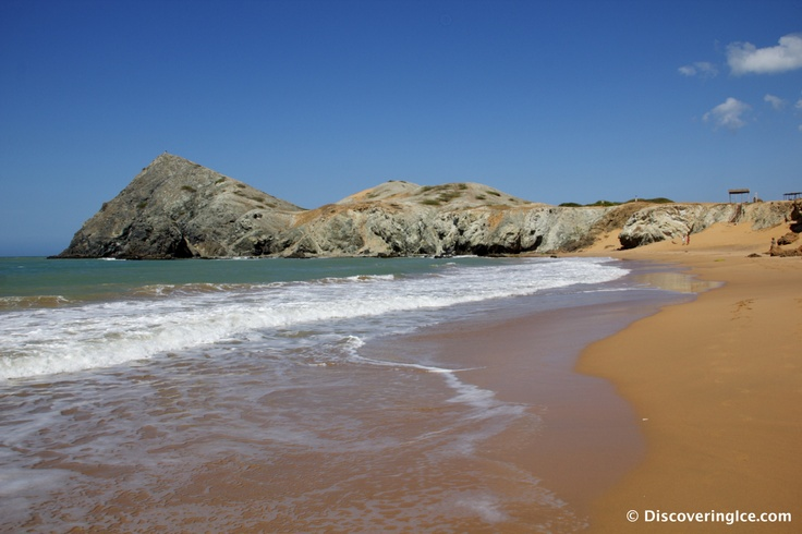 Cabo de la Vela - orange sand, turquoise green waters and isolation. La Guajira, Colombia