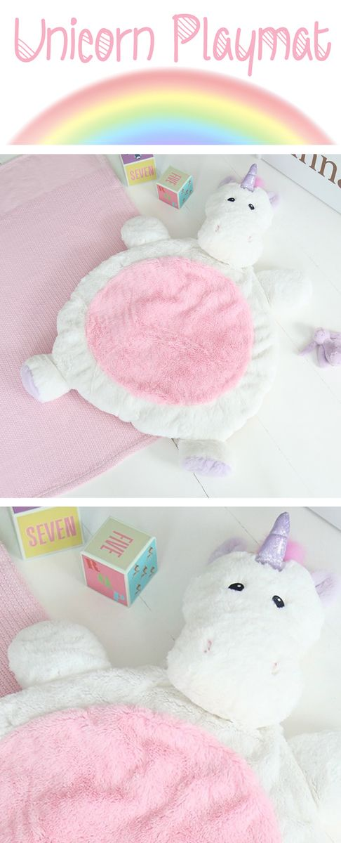 If you have a little one at home, you need this Unicorn Playmat!