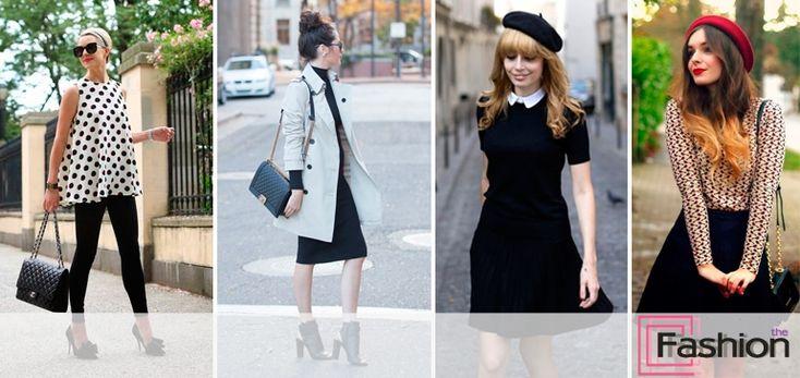 стиль французский шик в одежде