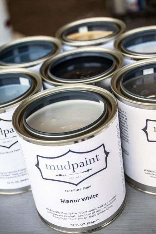 Mudpaint - furniture paint, great for antiquing and distressing!  Now working with retail shop owners :)