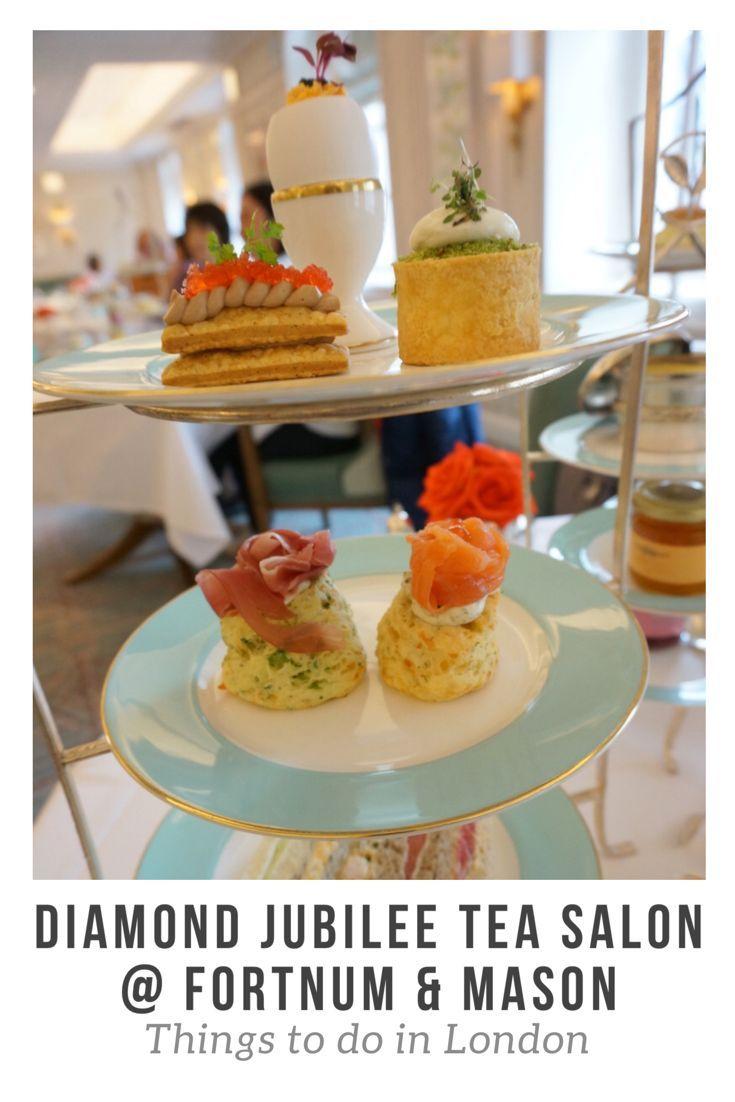 Diamond Jubilee Tea Salon Afternoon Tea @ London Fortnum & Mason
