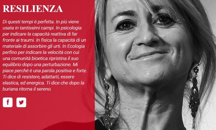resilienza Littizzetto per Treccani