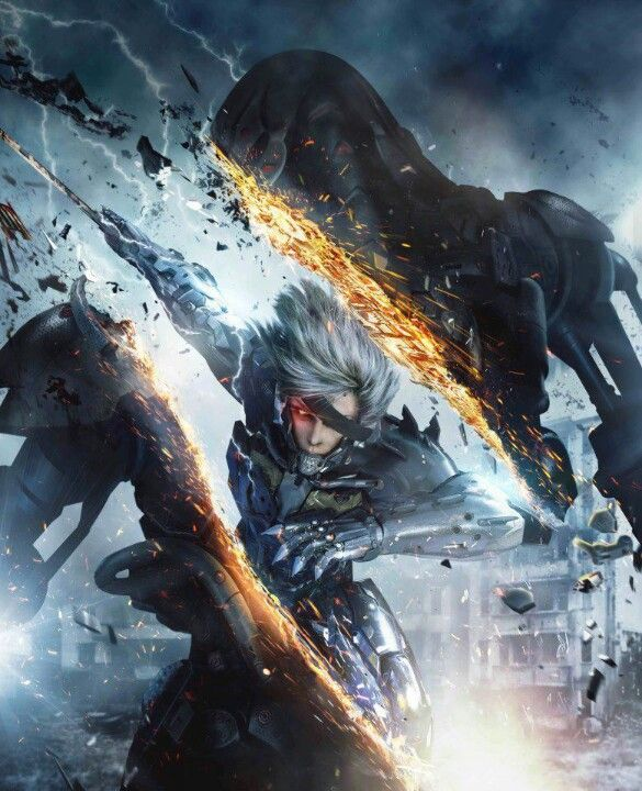 Metal Gear Rising, Raiden