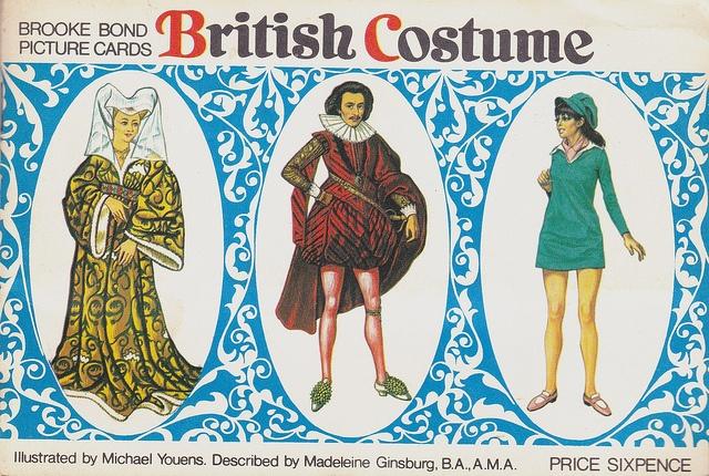 BRITISH COSTUME    Brooke Bond tea Cards