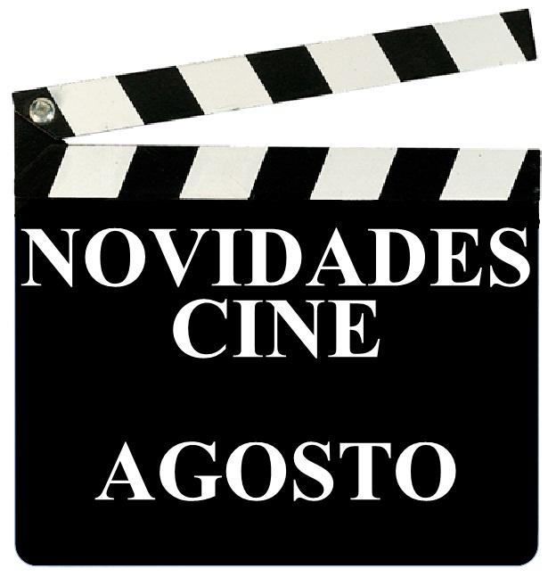 As novidades de cine na Biblioteca Ánxel Casal. Agosto