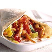 Recept - Wrap met kip, salsa en ananas - Allerhande