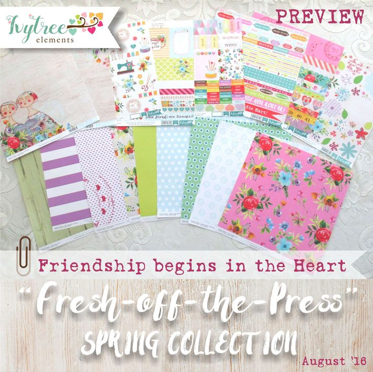 Friendship begins in the Heart Collection