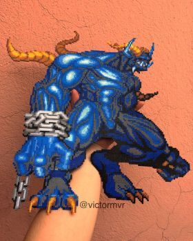 Dark warrior  by victormvr