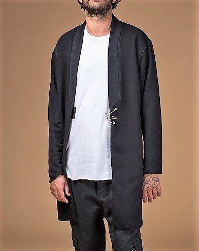 19 Men's Wear black Cardigan Clips