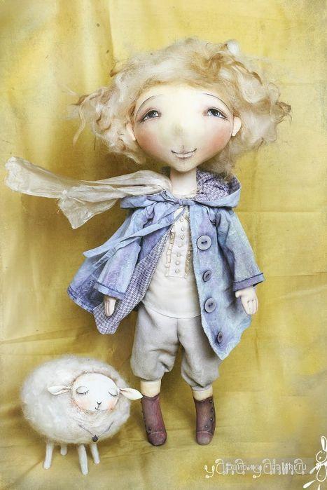 Авторские текстильные куклы Яны Яхиной