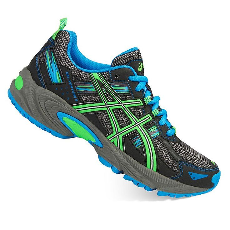ASICS GEL-Venture 5 Grade School Boys' Running Shoes, Boy's, Size: 6, Grey Other