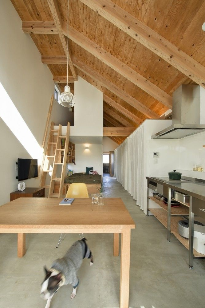 Small spaces/attic space - steps!  Naoko Horibe
