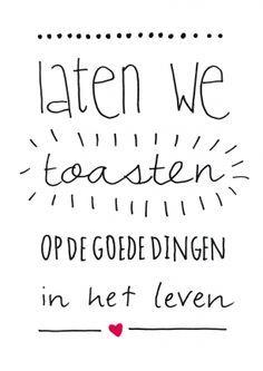de goede dingen in het leven! || verstuur een echt kerstkaartje! || Made by www.miekinvorm.nl