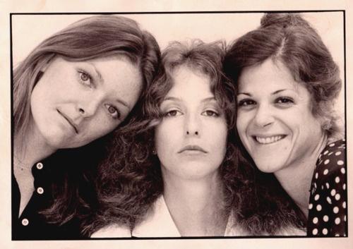 the ladies of SNL:  Jane Curtin, Lorraine Newman and Gilda Radner