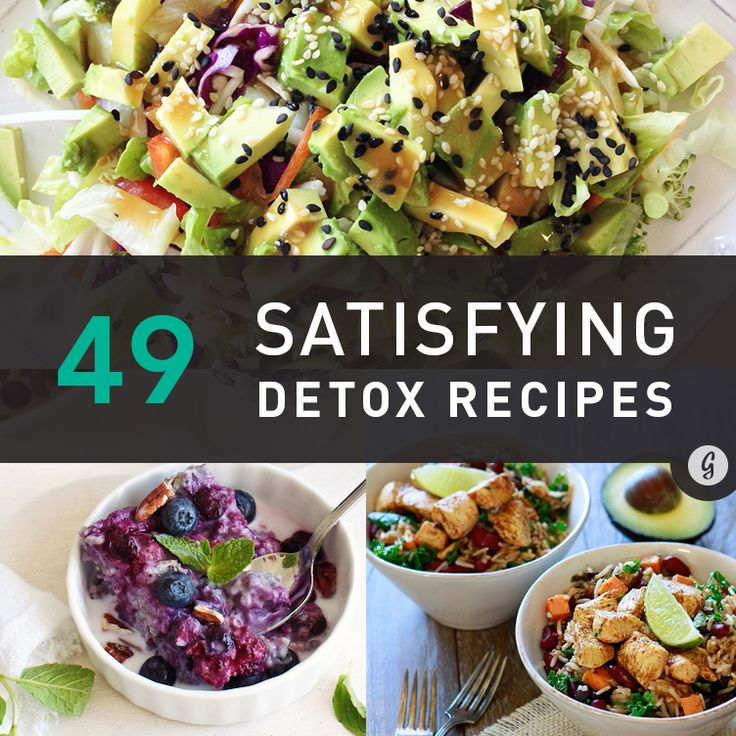 It's time to stop fearing the detox—start the holiday season the right way with some of these healthy (and, more importantly, delicious) recipes.