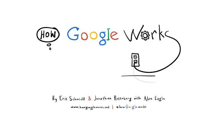 Quand une présentation devient un compte.  Eric Schmidt, Executive Chairman at Google