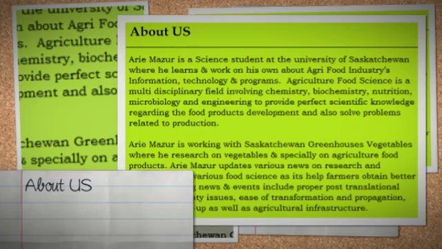 Arie Mazur Marketing  of Agricultural products and services from Agrifoodblog.com promote higher yields and healthier agricultural foods, contributing to improved global nutrition.
