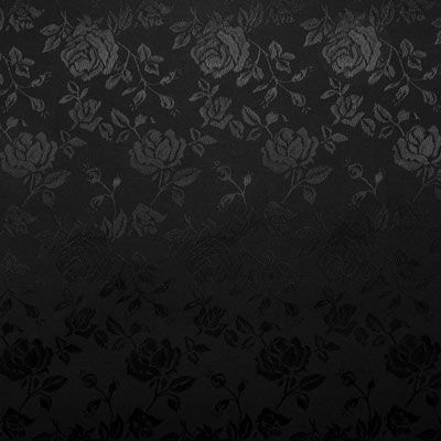 Black Jacquard Satin Fabric