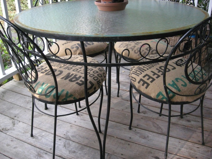 New Outside Chair Cushions