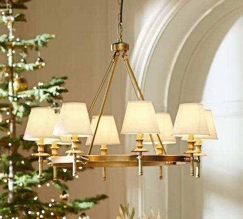 Pottery Barn Leaf Chandelier: Pottery Barn Collins Chandelier Vs Visual Comfort Classic
