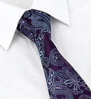 Paisley Tie - from M&S - Hannibal Mads Mikkelsen style