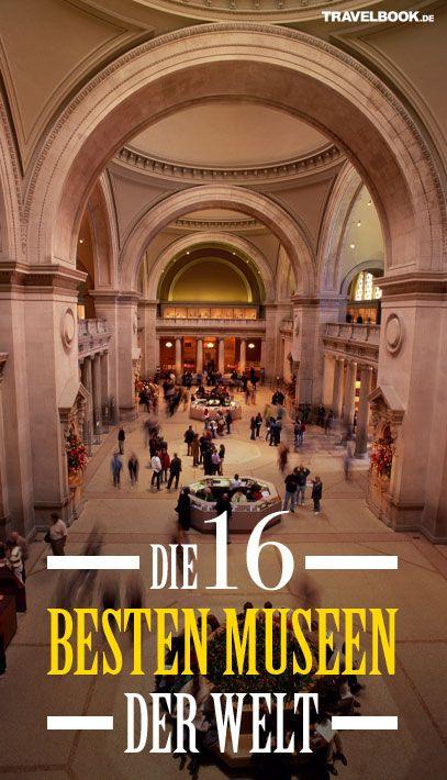 Welche Museen zurzeit weltweit am beliebtesten sind, haben die User der Reisewebsite Tripadvisor mit ihren Bewertungen entschieden. Auch ein deutsches Museum hat es in das Top-Ranking geschafft: http://www.travelbook.de/welt/ranking-die-besten-und-beliebtesten-museen-der-welt-und-in-Deutschland-693072.html