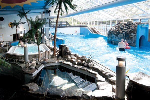 Tropicana Badeland - indoor tropisch zwembad in Gol (31 euro/gezin)
