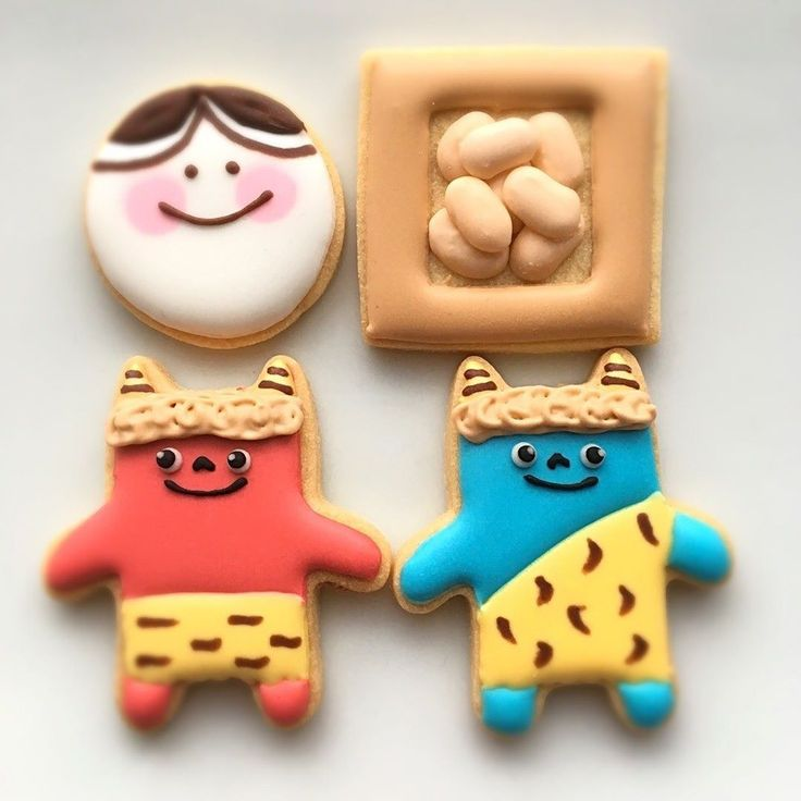 soraminaさんの節分 アイシングクッキー #snapdish #foodstagram #instafood #instasweet #food #homemade #homemadesweets #cooking #cookies #icingcookies #icing #手作りおやつ #おやつ #ていねいな暮らし #暮らし #アイシングクッキー #節分 https://snapdish.co/d/5yuG5a