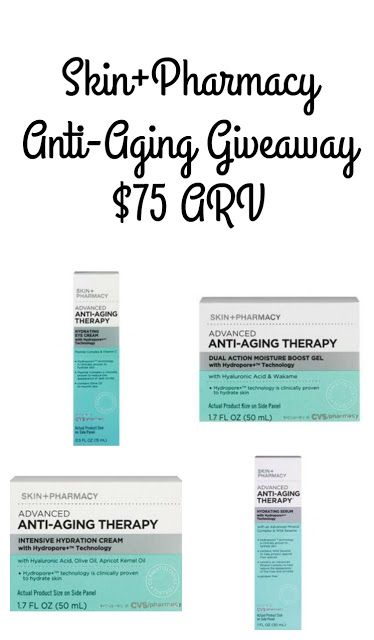 Skin+Pharmacy Anti-Aging Skin Care Review and Giveaway Ends 11/23   Everything Pretty