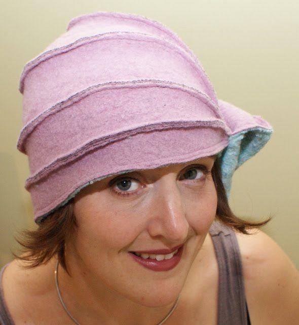 Hoe alle soorten hoeden te  maken .  Patronen. <Sub> Tutorials </ sub ...