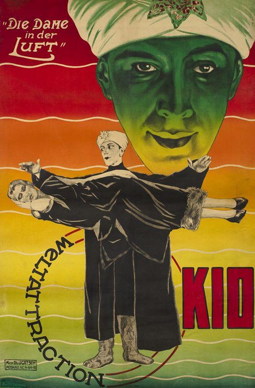 Die Dame In Der Luft - Weltattraction Kid by Dlugach, Mikhail