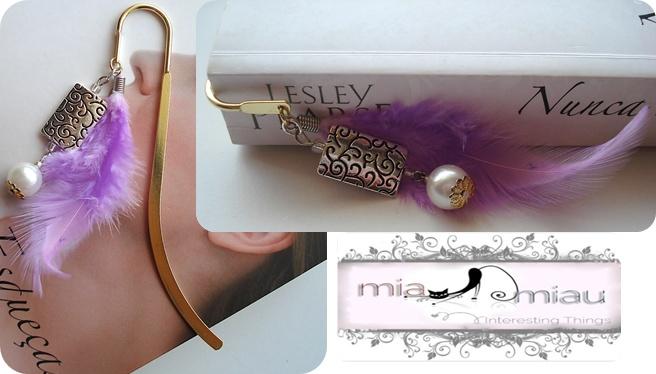 Marcador de Livros   Ref: # ML003  Contacte miauu.mia@gmail.com