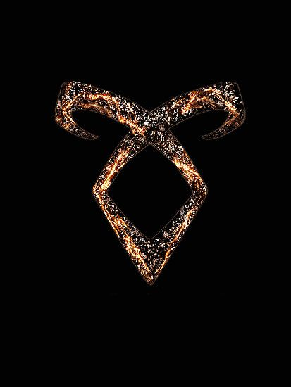 "Mortal Instruments Angelic Power Rune"" by Ellen Kapelle 