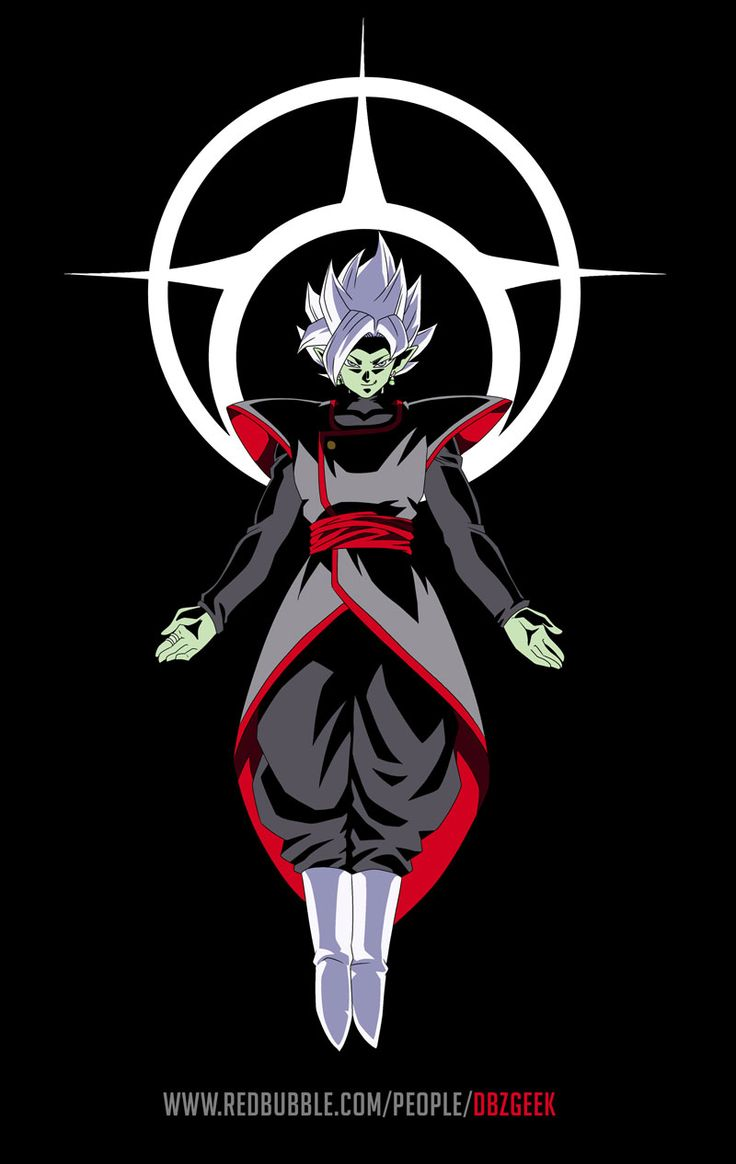 hope you like it, done taking as reference multiple pics of fused Zamasu