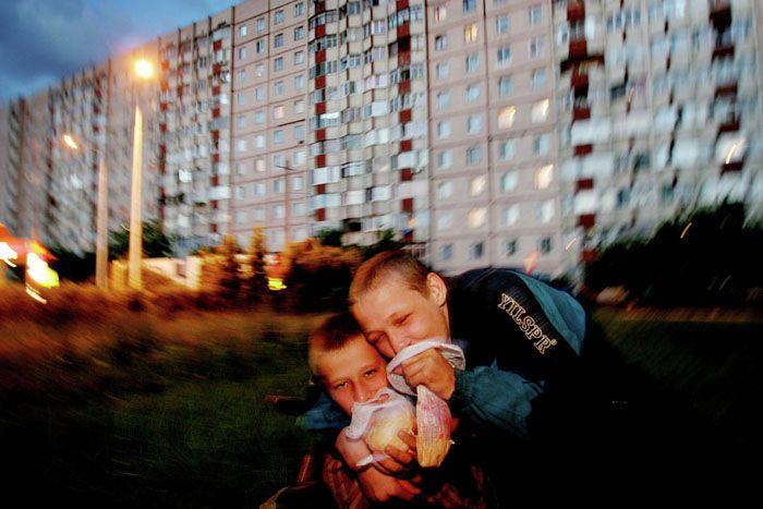 Michal Novotný | Street kids in Odessa | Ukraine, 2006