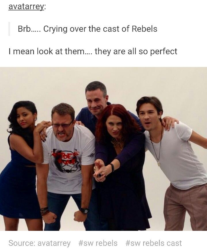 They are literally their characters.