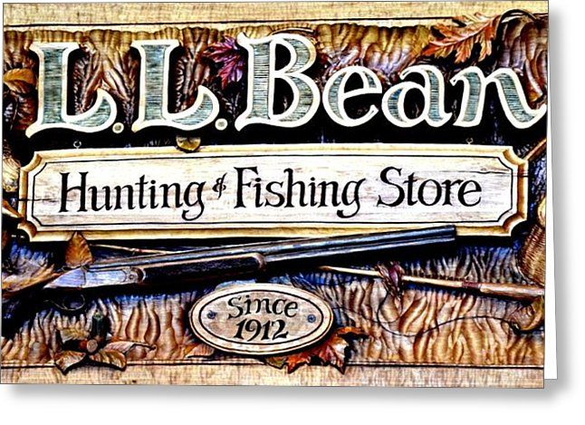 L. L. Bean Hunting And Fishing Store Since 1912 Photograph by Tara ...