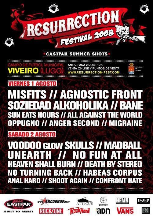 Resurrection Fest 2008, Spain