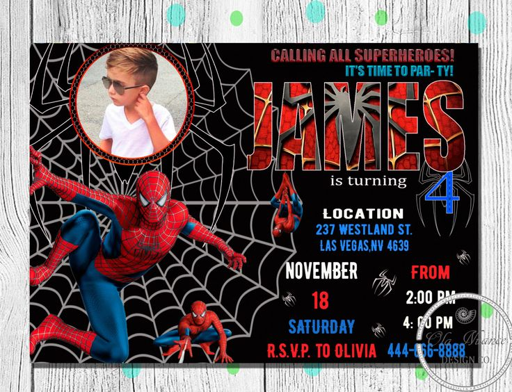 Excited to share the latest addition to my #OlaNuanceDesign shop #SpidermanInvitation #SpidermanBirthday #Invitation #Spiderman #SpidermanPrintable #SpidermanCard #SpidermanInvite #Spidermanparty Digital http://etsy.me/2DL6H2m #birthday #rainbow #printable #invite